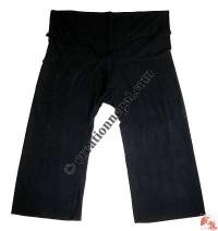 Shyama cotton plain wrapper-black