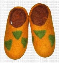 Mask design slipper