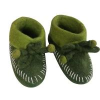 Plain 2-color baby shoes