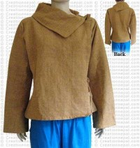 Plain color cotton choli jacket