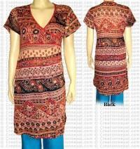 Short sleeves choli dress