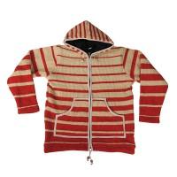 Stripes woolen men jacket1