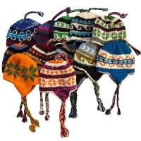 Assorted woolen ear hat