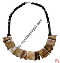 Plain bone necklace 3