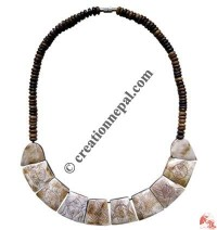 8-Auspicious signs bone necklace 6