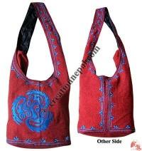 Embroidered BTC Lama bag11
