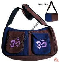 Side pockets cotton bag