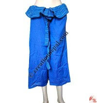 Fisherman design quarter length wrapper trouser1
