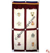 Astamangala polyester door-curtain1