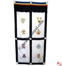 Astamangala polyester door-curtain2