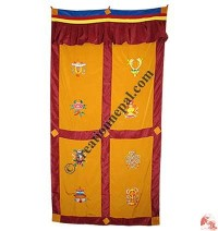 Astamangala polyester door-curtain5