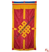Endless knot polyester door-curtain4