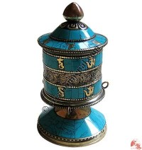Table stand prayer wheel 4