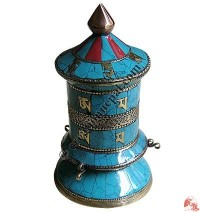 Table stand prayer wheel 2