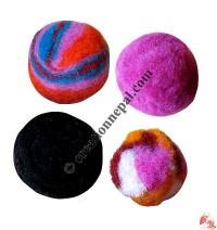 5-6 cm felt soft decorative balls ( packet of 100 balls)