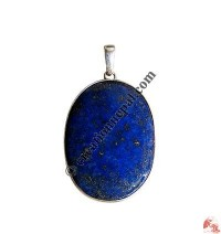Lapis stone silver pendant5