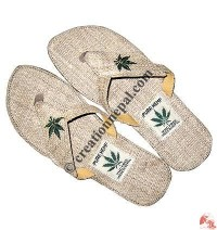Hemp leaf ladies sandals