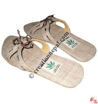 Hemp ladies cross sandals