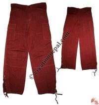 Botton zip Shyama trouser