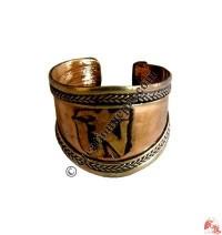 Front widen cupper mantra finger ring1