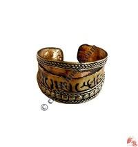 Front widen cupper mantra finger ring2