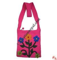 5-flower felt bag