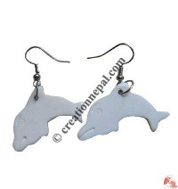 Dolphin ear ring