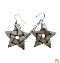 Star ear ring