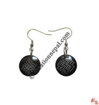Endless knot ear ring