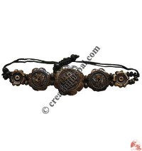 Om-endless knot bracelet