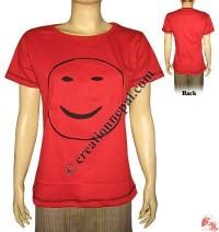 Smiley face tib t-shirt