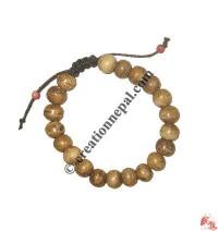 Plain natural color bone bracelet