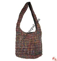 Loose knitting silk bag