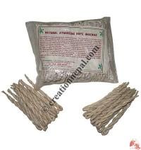Natural Ayurvedic rope incense (packet of 4 small packs)