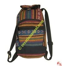 Gheri cotton ruksack bag