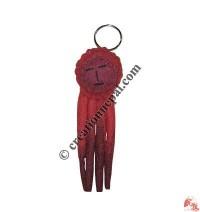 Funny doll felt key ring3