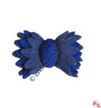 Butterfly design felt hair back-clip