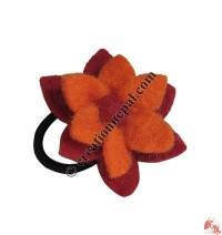 Lotus felt flower hair band