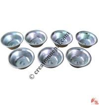 Aluminum metal offering bowl set