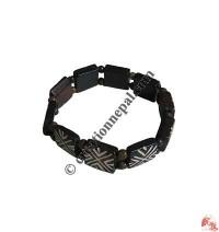 Cross design bone bracelet2