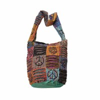 Patch-work layer cut and print lama bag