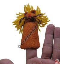 Finger press felt puppet1