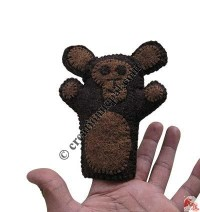 Chimpanji finger puppet