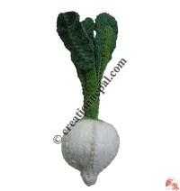 Felt turnip