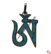 Small size Tibetan OM pendant