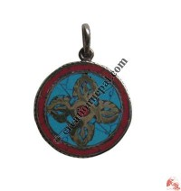 Decorated Tibetan Dorje pendant