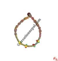 Beads hemp bracelet