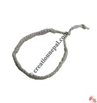 Natural hemp simple bracelet