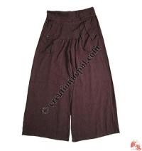 Khaddar cotton front crease trouser