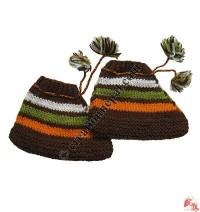 Woolen baby feet warmer